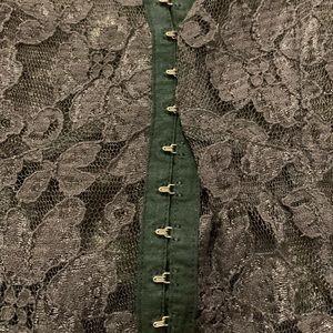 LF Dresses - LF Gray Lace Dress